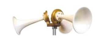 Sirènes pneumatiques Kockum type TYFON MKD 150/3