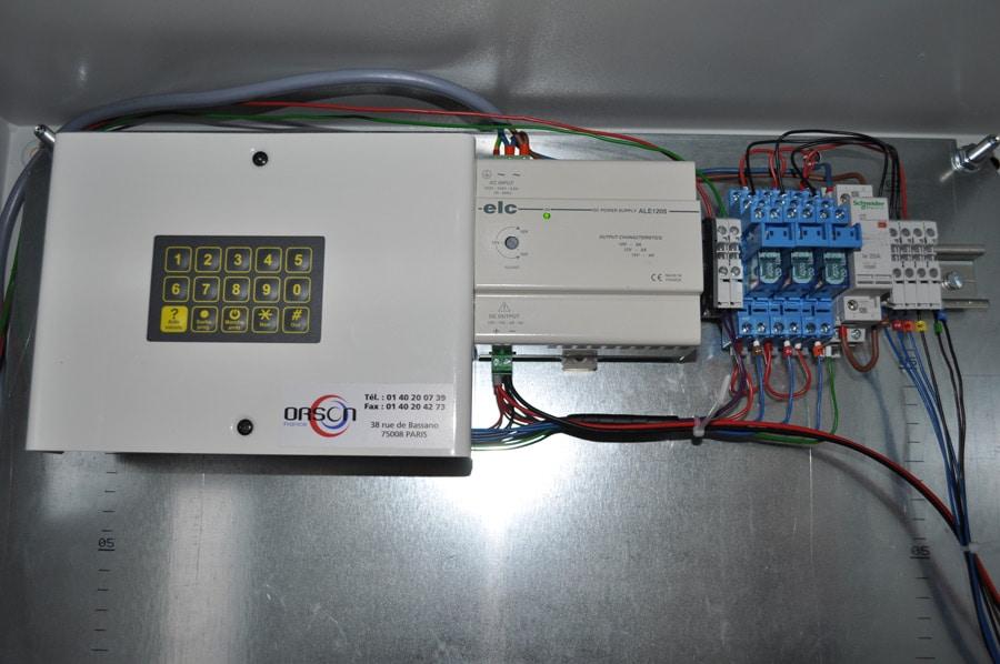 Type de déclenchement de sirène d'alerte par modem téléphonique, VOCALYS