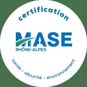 Logo certificat MASE - ORSON France